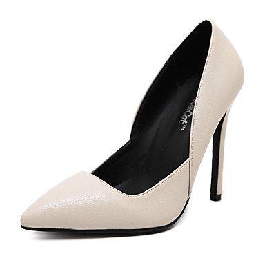 Moda Donna Sandali Sexy donna tacchi Primavera / Autunno / Inverno tacchi / pompa di base / Comfort / scarpe e borse di corrispondenza almond