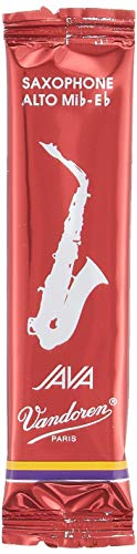 Vandoren SR2625R Box 10 Ance Java Red 2.5 Sax Alto