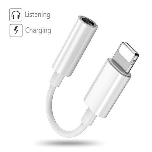 Adaptador iPhone,Relimi Adaptador Audio 3.5mm Auriculares