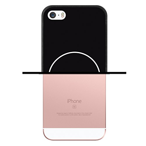 iPhone SE iPhone 5 5S Hülle, WoowCase Handyhülle Silikon für [ iPhone SE iPhone 5 5S ] Lippen Gay Flagge Handytasche Handy Cover Case Schutzhülle Flexible TPU - Rosa Housse Gel iPhone SE iPhone 5 5S Schwarze D0191