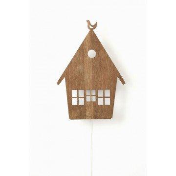 Lampe Haus Aus Holz House Lamp Von Ferm Living von ferm Living
