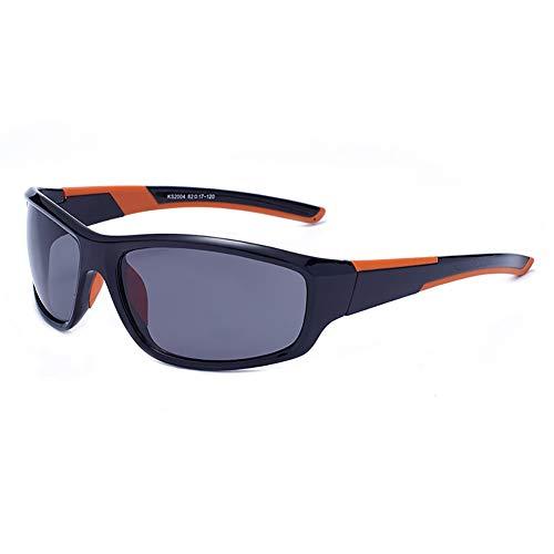 EFE Polarisierte Sportsonnenbrille für Herren und Damen, leicht, für Radfahren, Laufen