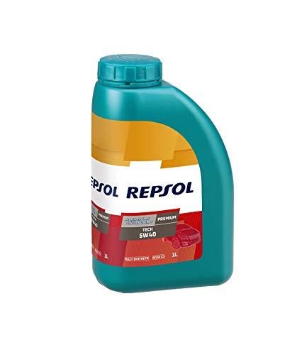 Repsol olio sintetico lubrificante per auto benzina e diesel Premium Tech 5W40 VP-1 1lt