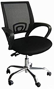 Galaxy Design Computer Desk Chair for Office and Gaming, back comfort and lumbar support (Black), GDF-7825