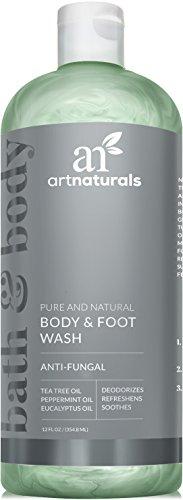 ArtNaturals Natürliches Duschgel für Fuß-Pilz und Körperwäsche - (12 Fl Oz / 355ml) - Pflegedusche mit Teebaumöl -...