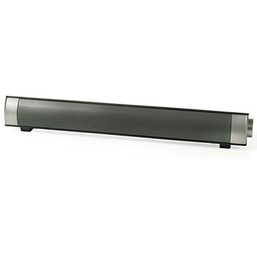 Caratec CAS100 Soundbar mit Zwei Breitband-Lautsprechern für Ihren Wohnmobil TV