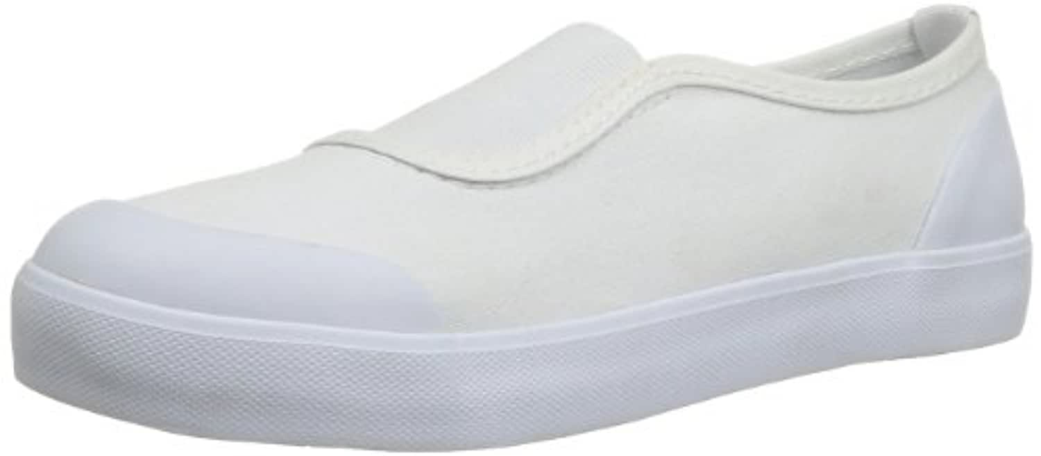 Start Rite Hop, Unisex Kids' Low-Top Slippers, White (White Canvas), 1 UK