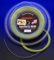 ASHAWAY SuperNick XL Micro Squash String (1Reel-360Ft) by ASHAWAY -