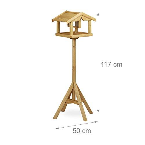 relaxdays-vogelhaus-mit-staender-aus-holz-unbehandelt-stehend-vogelfutterhaus-bausatz-hbt-117-x-50-x-50-cm-braun-3