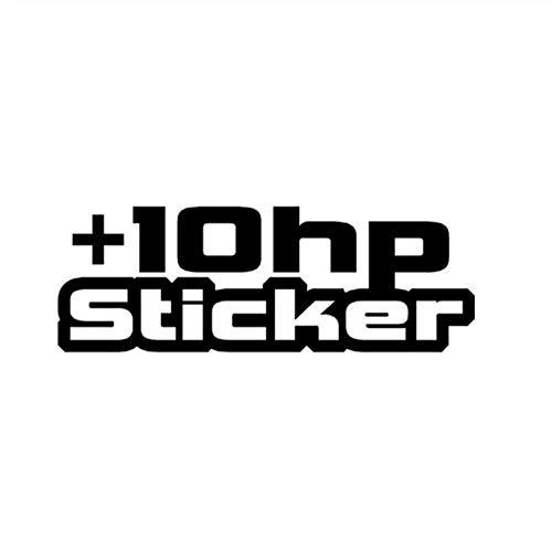 DDLLAN Auto Aufkleber Hohe Qualität für +10 HP-Abziehbilder grafischer Vinylauto-Aufkleber 16.9CM * 5.9CM 2 Stück (Hp-laptop-abziehbild-aufkleber)