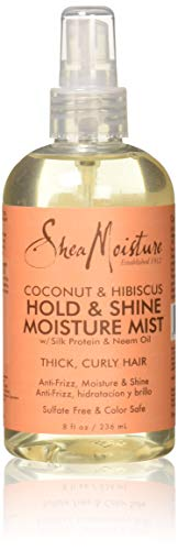 Shea Moisture Coconut Hibiscus Hold und Shine Mist, 1er Pack (1 x 236 ml)