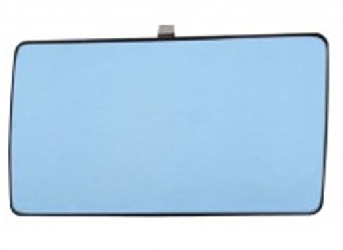 Preisvergleich Produktbild Spiegelglas Außenspiegel Links Heizbar Flach Blau MERCEDES 190 W201 W124