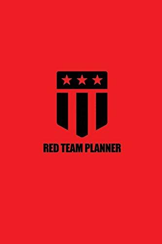 Red Team Planner: (Red & Black) por Joshua Picolet