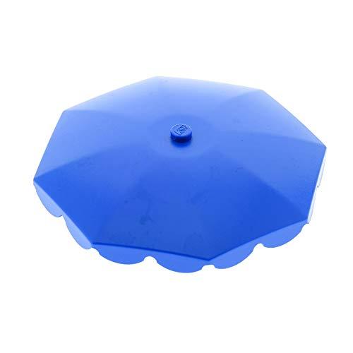 Bausteine gebraucht 1 x Lego System Schirm blau Umbrella Sonnenschirm Mickey Mouse 4165 6252