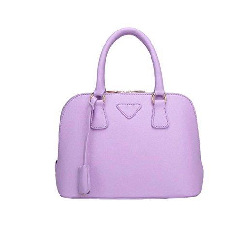 Handtaschen Mode Kuriertasche Schultertasche Handtasche Shell Paket Einfache Wilde Atmosphäre Purple