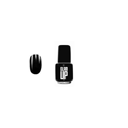 GLAM UP - MINI Vernis à ongles 5ml - Noir - Fabrication Européenne