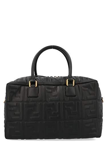 Fendi Damen 8Bl141a72vf15zw Schwarz Leder Handtaschen - Handtaschen Schwarz Fendi