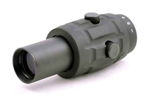 TMS AR Tactical 3x Magnifier Scope for Red Dot Reflex Sight by Hammers