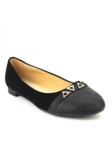 Cendriyon, Ballerine Noire TRIANGA Mode Chaussures Femme Noir
