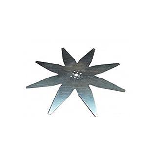 Zucchetti - Blade with 8 Tips for Ambrogio L200 Lawnmower (Diameter 29 cm)