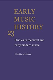 Early Music History 25 Volume Paperback Set (0521759854)   Amazon price tracker / tracking, Amazon price history charts, Amazon price watches, Amazon price drop alerts
