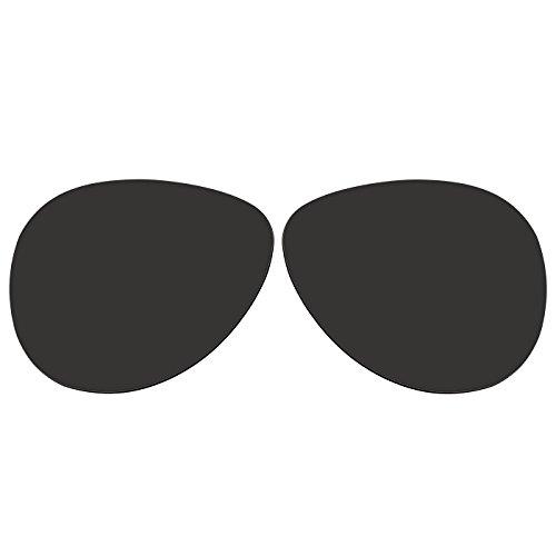 ACOMPATIBLE Ersatz Linsen für Oakley Caveat oo4054Sonnenbrille, Black - Polarized