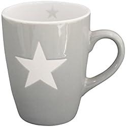 Krasilnikoff Tasse Brightest Star Hellgrau