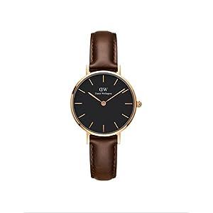 Daniel Wellington Reloj Analógico para Mujer de Cuarzo con Correa en Cuero DW00100221
