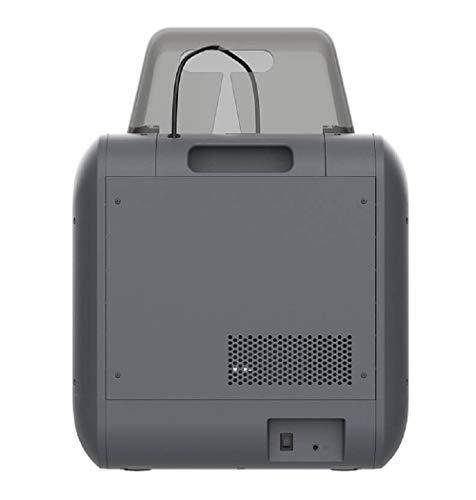 Monoprice 150 3D-Drucker - Schwarz mit (150 x 140 x 140 mm) herausnehmbarer Bauplatte, vollständig geschlossen, Touchscreen, unterstütztes Ausrichten, extrem leises Drucken, einfaches WLAN - 4