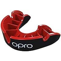 Opro Sport Pieza Self Fit Gen4Plata Unisex Negro/Rojo