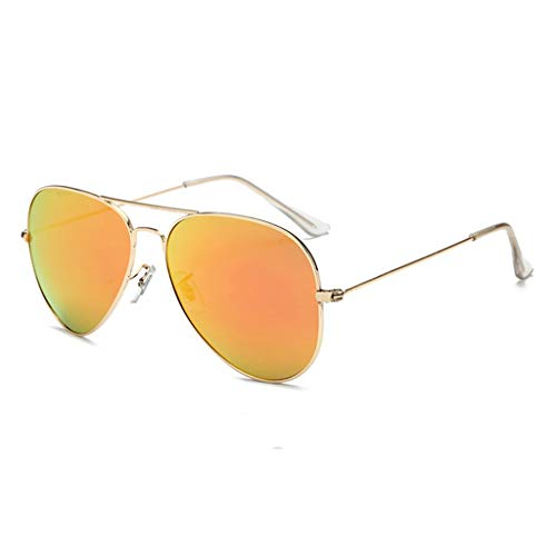 ZHAO YELONG Sonnenbrille Persönlichkeit Unisex Pilot Sonnenbrille Schutzbrille (Color : J)