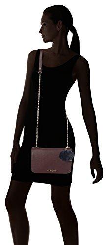 Blu Byblos 675845, Borsa a Tracolla Donna, 5 x 16 x 24.5 cm (W x H x L) Rosso (Bordeaux)