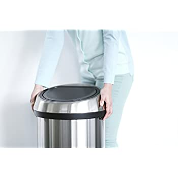 Brabantia Touch Bin, 60 L - Brilliant Steel
