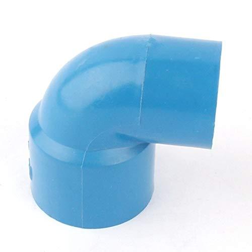 Bureze I. D 20 mm PVC-Rohrverbinder 45 90 Grad Winkelverbinder Kappen gleicher T-Reduzierstück für Garten Wasserpfeife Adapter Fittings