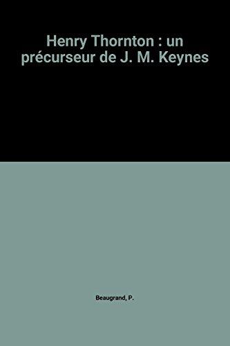 Henry Thornton : un précurseur de J. M. Keynes