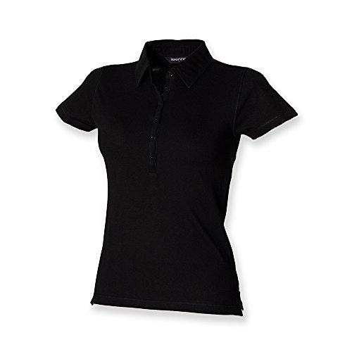 Skinni Fit - Chemisier Femme Noir