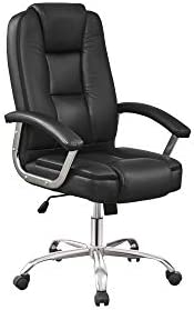 Multi Home Furniture MH-9900 Ergonomic Full Leather PU Computer Desk Chair for Office and Gaming, high-back co