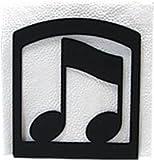 Village Fer Forg- NH-134 Note de musique Porte-serviettes