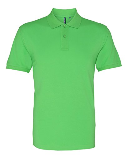 Asquith Fox Herren Poloshirt Lime