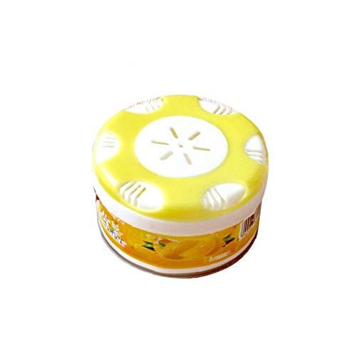 1PC deodorante ornamento decorazione solido frutta floreale fragranza deodorante profumo solido diffusore Deodorante deodorante del bagno di casa Car Cover Auto (Limón)