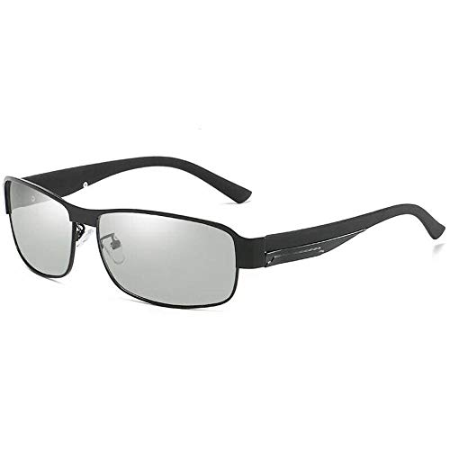 Smart Photochromic Polarized Sonnenbrillen - Driving Driving Essential Sonnenbrillen Blendschutz UV-Schutz HD-Objektiv Hohe Qualität (Replikation) -Grau 1
