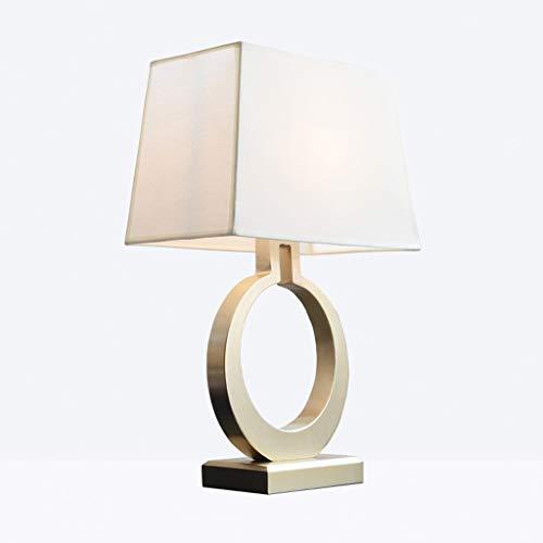 Jiji Lámpara de Mesa Lámpara de Mesa de Noche, luz de Mesa de Tela ...