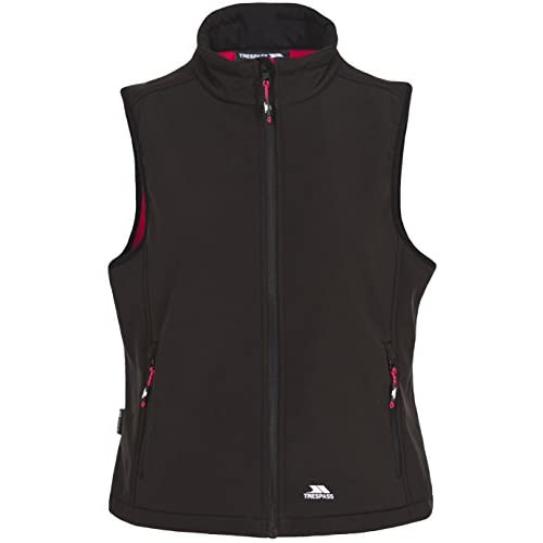 Trespass Women's Norma Windproof Softshell Gilet for Ladies Adults for Walking/Hiking/Trekking/Camping/Outdoor