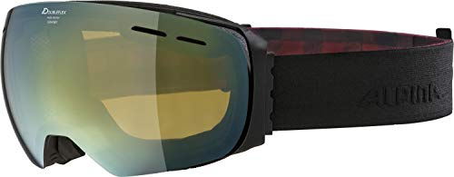 ALPINA Erwachsene Granby MM Skibrille, Black matt, One Size