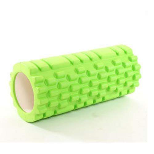 Chinashow Yoga Column Foam Shaft Hohl High Density Yoga Column Selbstmassage-Tool für Fitnessstudio Ideal für Pilates-Übungsroller, Grün