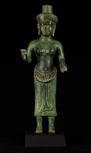 HD Asiatische Kunst 19. Jahrhundert Antik Indian Lakshmi/Devi Consort von Vishnu -