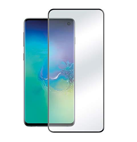 Phonix SS10ESGP Edge Glass Displayschutz aus gehärtetem Glas mit Rand, Full Glue für Samsung Galaxy S10E