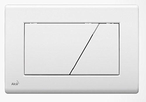 WC Vorwandelement für Trockenbau 100 cm inklusive Betätigungsplatte Weiss Typ Trapez Unterputzspülkasten Spülkasten Wand WC hängend Schallschutz