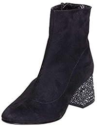 timeless design 993fb 5a7db Amazon.it: tronchetti donna con tacco largo: Scarpe e borse