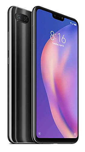 Xiaomi Mi 8 Lite 64GB 6.26-Inch Android 8.1 UK Version SIM-Free Smartphone - Grey (Official UK Launch) Best Price and Cheapest